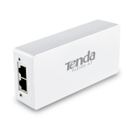 Tenda PoE30G-AT Gigabit PoE+ injector maximum transfer rate of up to 30W for single port