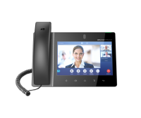 Grandstream GXV3380 16 Line Android IP Phone, 16 SIP Accounts, 1280 x 800 Colour Touch Screen, 2MB Camera, Built In Bluetooth+WiFi, Powerable Via POE (GXV3380)