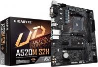 Gigabyte A520M S2H AMD mATX MB 2xDDR4 1xM.2 PCIE 3.0 1xHDMI 1xDVI (GA-A520M-S2H)