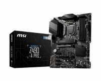 MSI Z490-A PRO DDR4 ATX SATAIII RAID 2xM.2 1xDP 1xHDMI 6xUSB 3xPCIE 4xDIMM 10th Gen LGA1200 CROSSFIRE Turbo M.2 (Z490-A PRO)