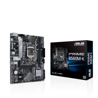 ASUS PRIME B560M-A/CSM Intel B560 (LGA 1200) mATX Motherboard PCIe 4.0, 2cM.2 slots, 8 power stages, 1 Gb Ethernet, HDMI, D-Sub (PRIME B560M-A/CSM)