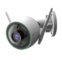 EZVIZ C3N Outdoor Smart Wi-Fi Camera, Color Night Vision, AI-Powered Person Detection, H.265 Video Compression,