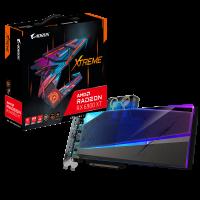 Gigabyte AMD Radeon RX 6900 XT AORUS XTREME WATERFORCE WB 16G Video Card, 2525 MHz Boost Clock, GV-R69XTAORUSX WB-16GD