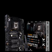 ASUS TUF GAMING B560-PLUS WIFI Intel B560 (LGA 1200) ATX Motherboard, 8+1 DrMOS Power stages, PCIe 4.0, Dual M.2,