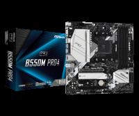 Asrock B550M PRO4 Motherboard Supports AMD AM4 Socket Ryzen 3000, 4000 G-Series and 5000 Series Desktop Processors