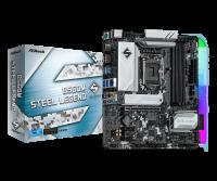 Asrock B560M STEEL LEGEND Motherboard Supports 10th Gen Intel Core Processors and 11th Gen Intel Core Processors