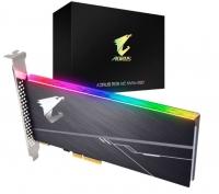 Gigabyte Aorus Aic Pcie X4 Nvme Ssd 512Gb - 3480/ 2100 Mb/ S 360/ 510K Iops 3D Tlc Toshiba Bics3 800Tbw 512Mb 1.8 Mil Mtbf Rgb 5Yrs Gp-Asacne2512Gttdr