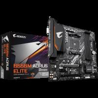 Gigabyte AMD B550 Ultra Durable Motherboard with Pure Digital VRM Solution, PCIe 4.0 x16 Slot, Dual PCIe 4.0/3.0 M.2 Connectors, GIGABYTE 8118 Gaming LAN (M/B B550M AORUS ELITE 1.0)