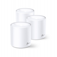 TP-Link Deco X60 (3-pack) AX3000 Whole Home Mesh Wi-Fi System (WIFI6), Up to 650sqm Coverage, WPA3