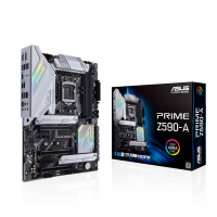 ASUS PRIME Z590-A Motherboard with PCIe 4.0, three M.2 slots, 16 DrMOS power stages, HDMI, DisplayPort