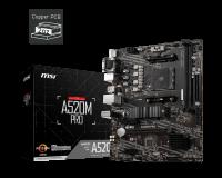MSI A520M PRO Motherboard Supports AMD Ryzen 5000 & 3000 Series desktop processors