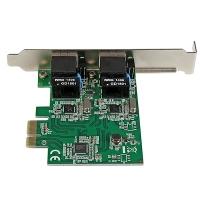 STARTECH.COM DUAL PORT GIGABIT PCIE NETWORK CARD, 2YR (ST1000SPEXD4)