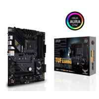 ASUS AMD B550 (Ryzen AM4) ATX gaming motherboard with PCIe 4.0, dual M.2, 10 DrMOS power stages, 2.5 Gb Ethernet, HDMI, DisplayPort (TUF-GAMING-B550-PLUS)